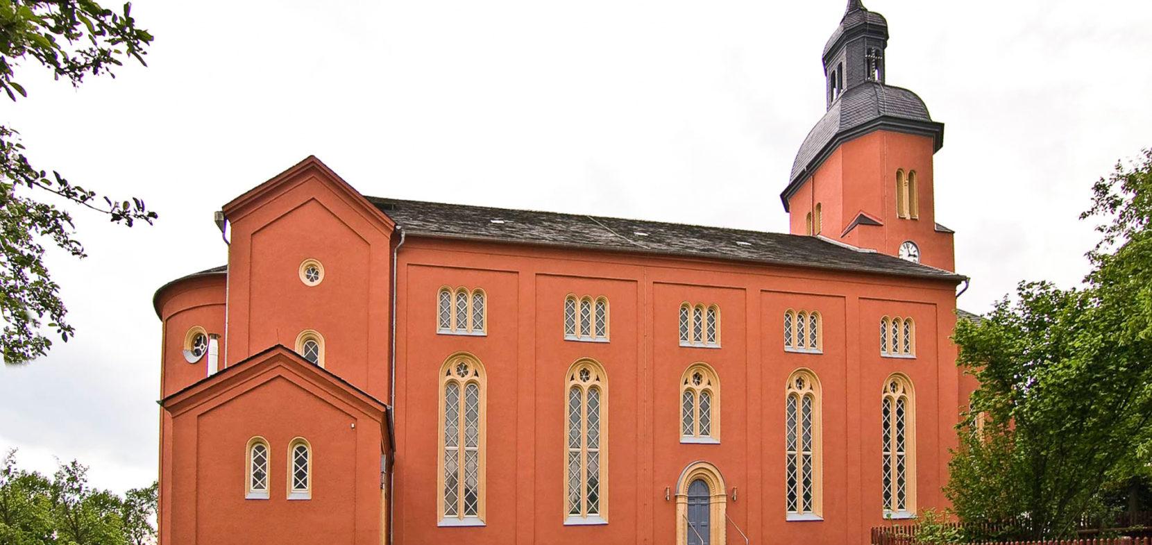 Kirche zum Heiligen Kreuz in Ortmannsdorf