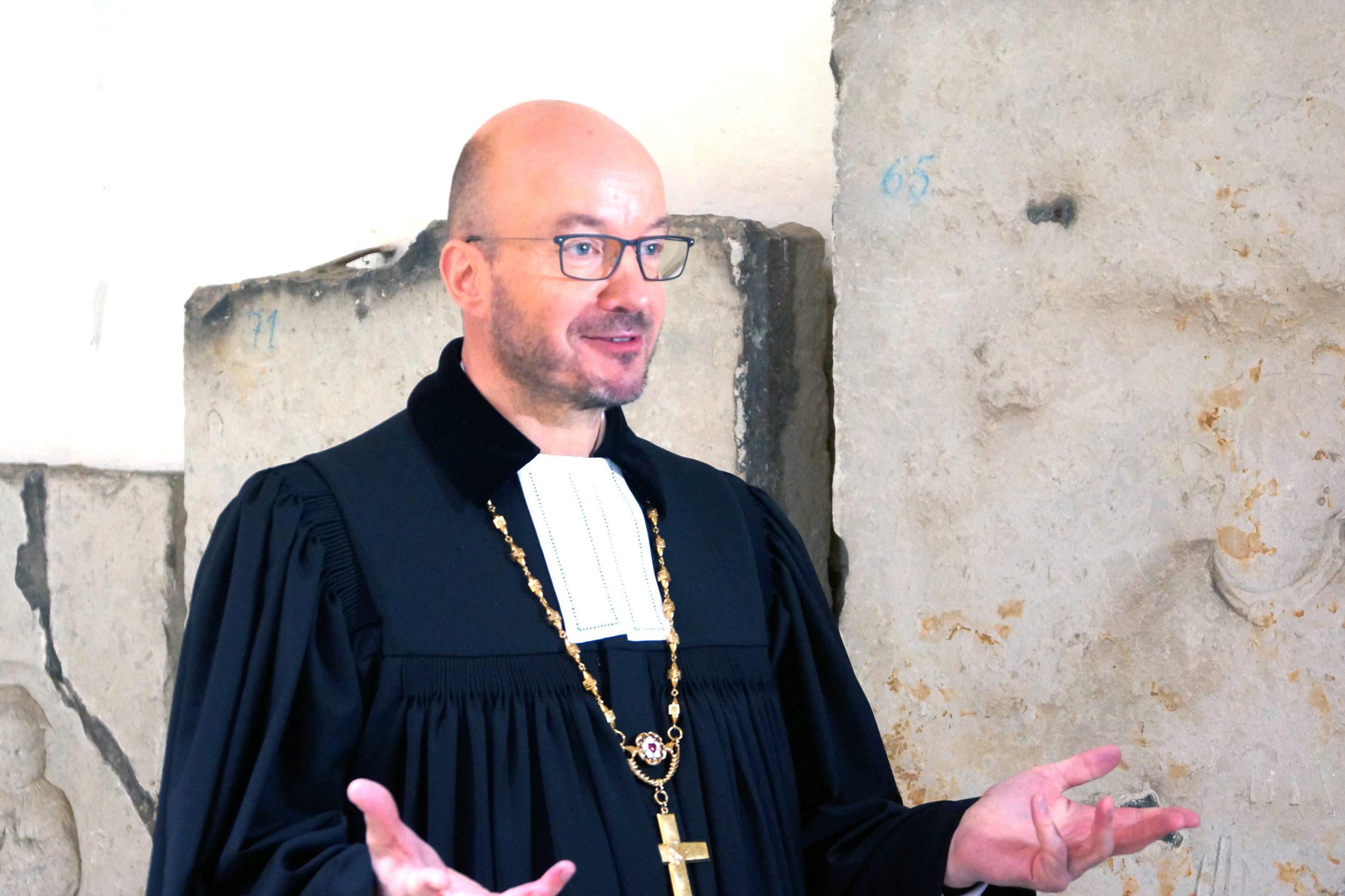 Landesbischof Bilz